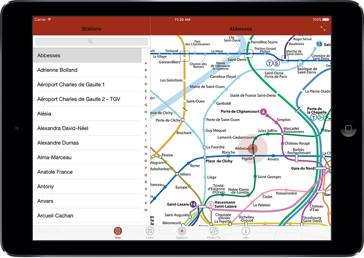 Paris Metro Rer Tram